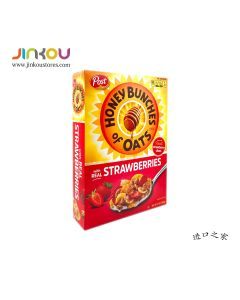 Post Honey Bunches Of Oats with Real Strawberries Cereal 13 OZ (368g) 宝氏蜂蜜草莓麦片