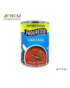 Progresso Vegetable Classics Tomato Basil Soup 19 OZ (538g)浦氏番茄罗勒汤罐头