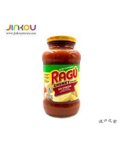Ragu Chunky Sauce Six Cheese with Other Natural Flavor 24 OZ (680g) 乐鲜双重6种芝士意粉调味酱