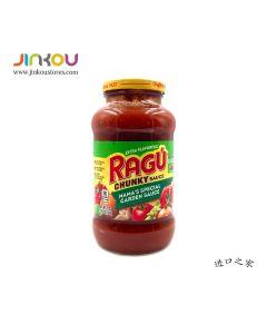 Ragu Pasta Sauce Chunky Mama's Special Garden 24 OZ (680g) 乐鲜双重蔬菜风味意粉调味酱