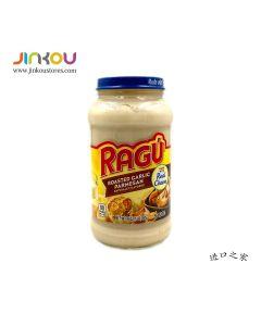 Ragu Real Cheese Roasted Garlic Parmesan Naturally Flavored16 OZ (453g) RAGU 烤蒜味帕玛森干酪复合调味酱