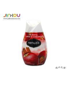 Renuzit Apple Cinnamon Air Freshener 7.0 OZ (198g) 蕊风苹果肉桂香型空气清新香座