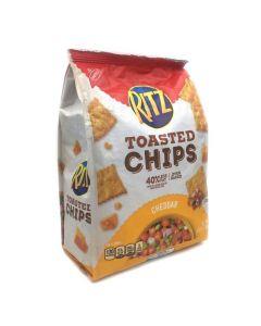 Ritz Toasted Chips Cheddar 8.1 OZ (229g) 纳贝斯克乐滋切达奶酪味饼干
