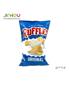 Ruffles Original Potato Chips 6.5 OZ (184.2g) 如福司土豆片 (原味)