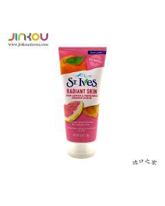 St. Ives Radiant Skin Pink Lemon & Mandarin Orange Scrub 6 OZ (170g) 圣艾芙磨砂粉柠檬柑橘洁面膏
