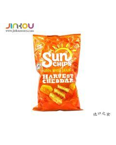 Sun Chips Harvest Cheddar 6.5 OZ (184.2g) 阳光牌车大玉米片 (膨化食品)