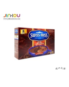 Swiss Miss Indulgent Collection Hot Cocoa Mix, Dark Chocolate (283g) 瑞士小姐浓情巧克力冲饮粉 (固体饮料)