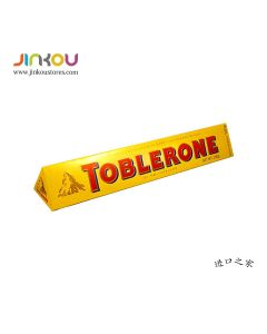 Toblerone Milk Chocolate with Honey & Almond Nougat (100g) 瑞士三角牛奶巧克力制品(含蜂蜜及杏仁)