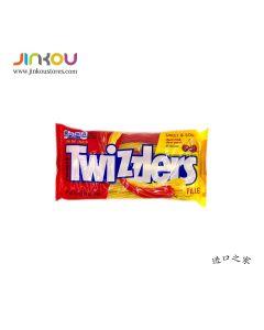 Twizzlers Filled Twists Sweet & Sour Cherry Kick (311g) 多滋乐甜酸味扭扭糖