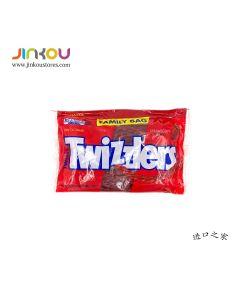 Twizzlers Strawberry Twists Low Fat Snack Family Size 24 OZ  (680g) 多滋乐甜酸味扭扭糖