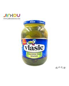 Vlasic Original Dill Pickles Wholes 46 FL. OZ (1.36L) 维纳斯青瓜